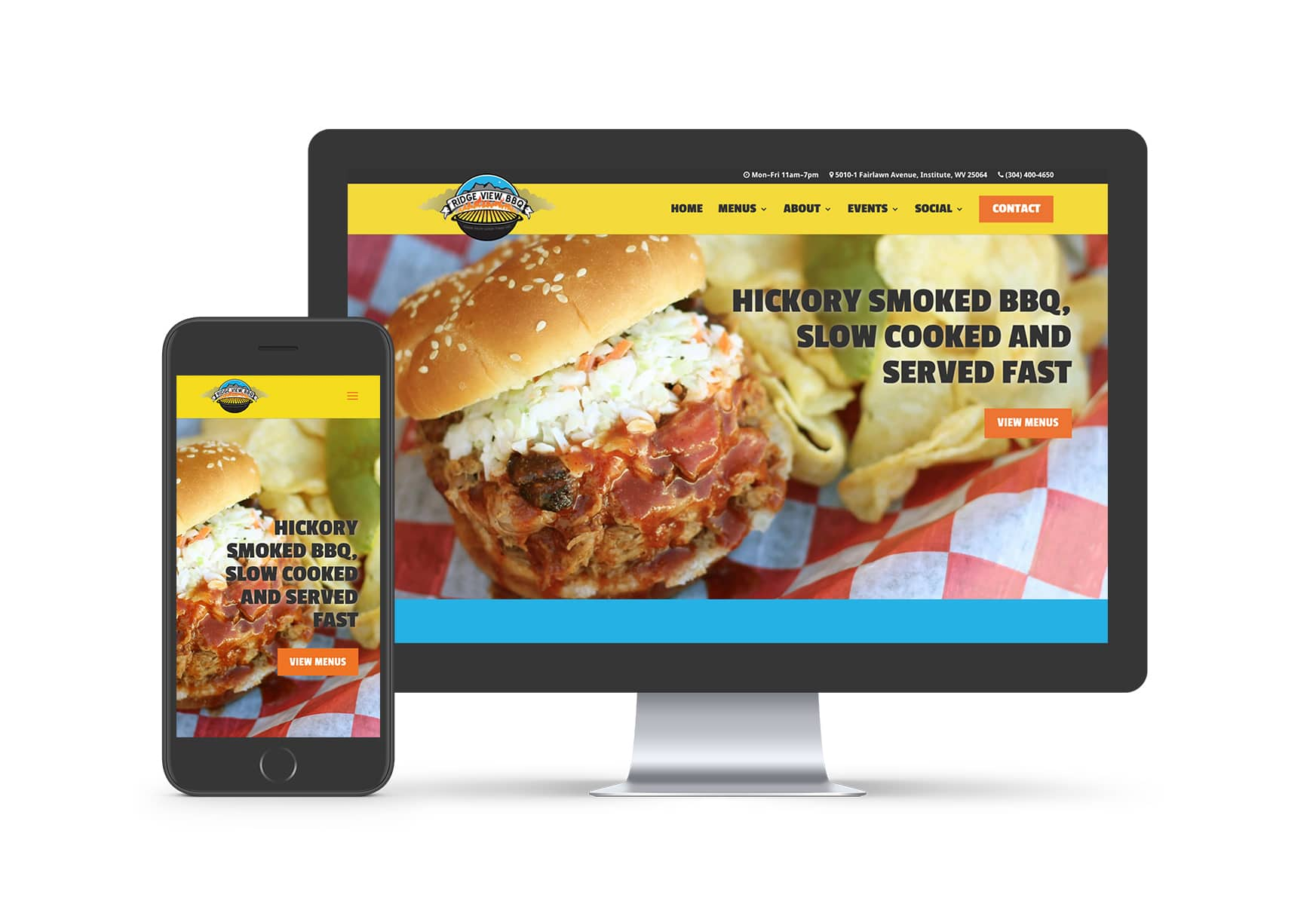 Website Design - Ridge View BBQ